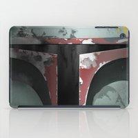 boba fett iPad Cases featuring boba fett by designoMatt
