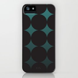 Circling Emerald iPhone Case