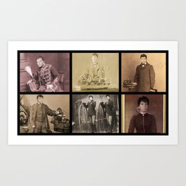 Victorian / Steampunk Trek - ALL Art Print