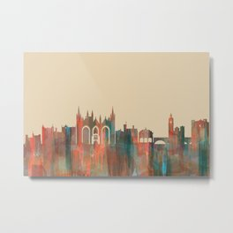 Peterborough, England Skyline - Navaho Metal Print