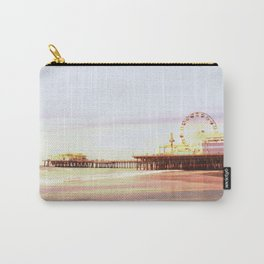 Santa Monica Pier Sunrise Carry-All Pouch