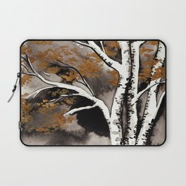 Black and Gold Birch Laptop Sleeve
