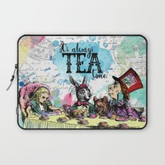 Alice in Wonderland - Tea Time Laptop Sleeve