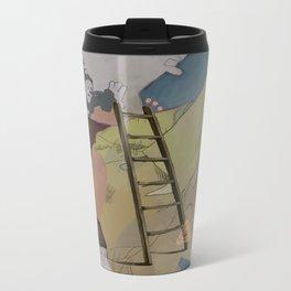 Coco's Lion Metal Travel Mug