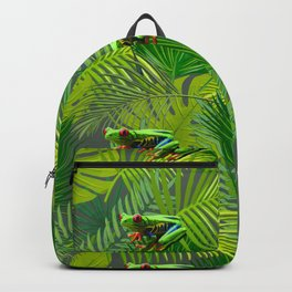 Frog Forest Backpack