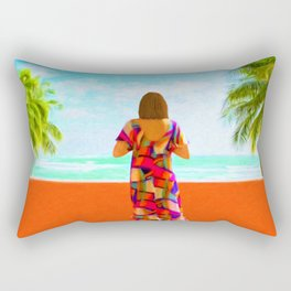 Shall I Compare Thee To A Summer's Day? Rectangular Pillow