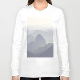 Rio de Janeiro Mountains Long Sleeve T-shirt