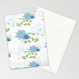 Water Lily Dreams Stationery Cards