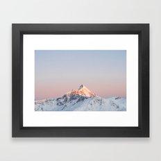 Mt Aspiring, Wanaka, New Zealand Framed Art Print