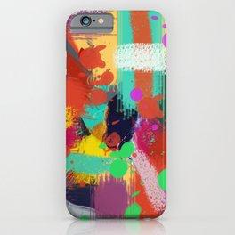 Color clock iPhone Case