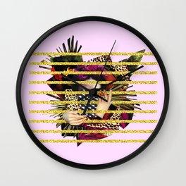 Hail Frida Wall Clock