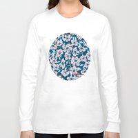 cherry blossom Long Sleeve T-shirts featuring Cherry Blossom by Alannah Brid