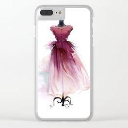 Beautiful dress Clear iPhone Case
