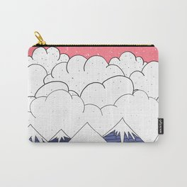 The mountains and the clouds Carry-All Pouch
