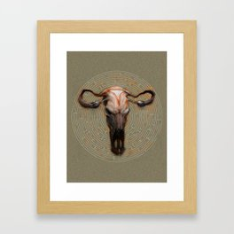 The Minotaur Framed Art Print