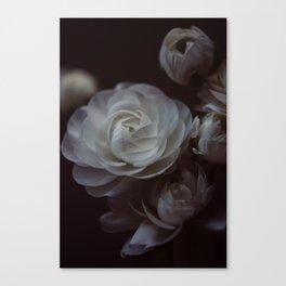 Moody Florals II Canvas Print