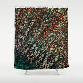 Microscope Shower Curtain