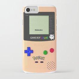 GAMEBOY JIGGLYPUFF EDITION iPhone Case