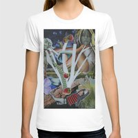 mythology T-shirts featuring Pyramus & Thisbe Collage Mythology Romeo and Juliet by FountainheadLtd