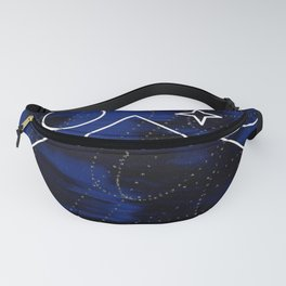 Space Pyramid Fanny Pack