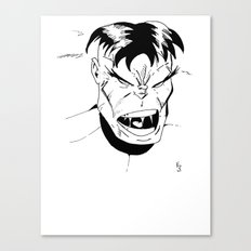 Hulk - You Wouldn't Like Me When I'm Angry - 2012 Canvas Print
