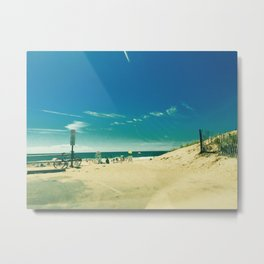 Hamptons Summer Beach Day-to-Day Ease Metal Print