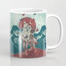 Lady Butterfly Mug