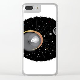 Eclipsed Clear iPhone Case