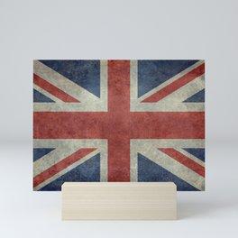 England's Union Jack, Dark Vintage 3:5 scale Mini Art Print