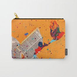 Letter Trail by Nadia J Art Carry-All Pouch