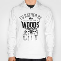 woods Hoodies featuring WOODS by Thiago Bianchini