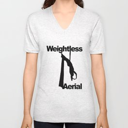 Weightless Aerial Logo Unisex V-Neck