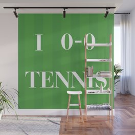 I heart Tennis Wall Mural