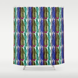 Promenade with a dog Shower Curtain