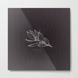 Branch Ink Study Metal Print