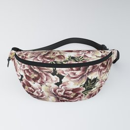 Vintage Flowers At Night #society6 Fanny Pack