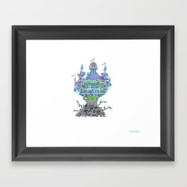 walden...walmart can't touch it, you know? there'd be hell, as it were Framed Art Print