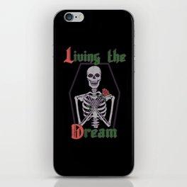 Living The Dream iPhone Skin