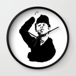 Tip My Hat Wall Clock