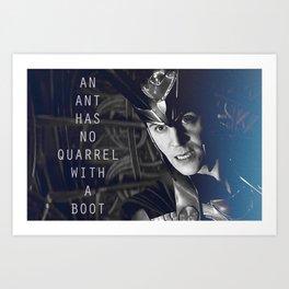Loki Tom Hiddleston Art Print