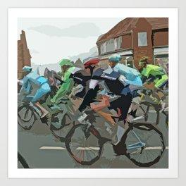 Tour de France 2014 Art Print