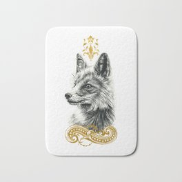 Beasts of the forest: Fox Bath Mat