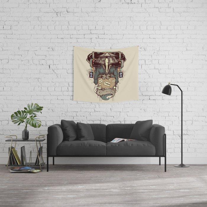 Transcendental Tourist Wall Tapestry