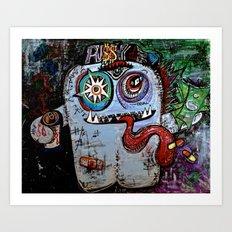 Pu$$y Monster Art Print