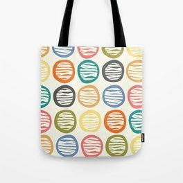 Crayon Abstract Tote Bag