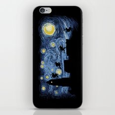Starry Fight iPhone & iPod Skin