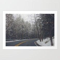 Glisten Art Print