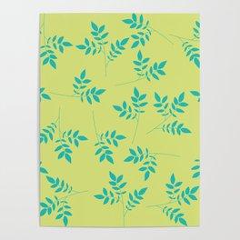 Leaf Pattern Poster