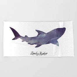 Lonely Hunter Beach Towel