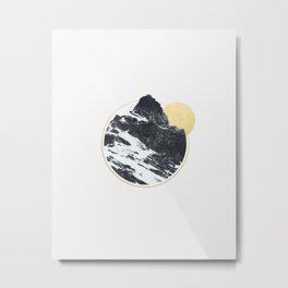 Mt. Golden Metal Print